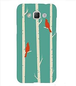 Birds pattern Back Case Cover for Samsung Galaxy J7::Samsung Galaxy J7 J700F