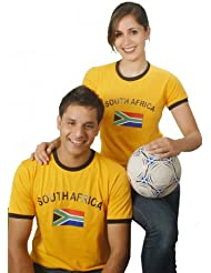 BRUBAKER Südafrika Fan T-Shirt Orange Gr. S - XXXL
