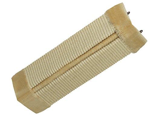 Nobby angolo Scratch Lavagna con peluche, 49x 22cm, colore: beige