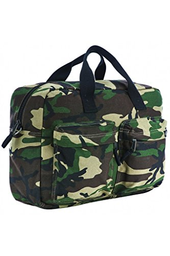 Borsa Messenger Dickies Valley Springs - 16 Litre Camouflage (Default , Verde)
