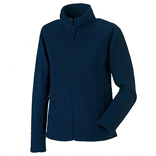 Russell Womens Full Zip Outdoor Fleece Jackets French Navy
