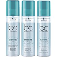 Schwarzkopf Moisture Kick bonacure hyalu Electronic Crema Spray Conditioner 3 x 200 ml