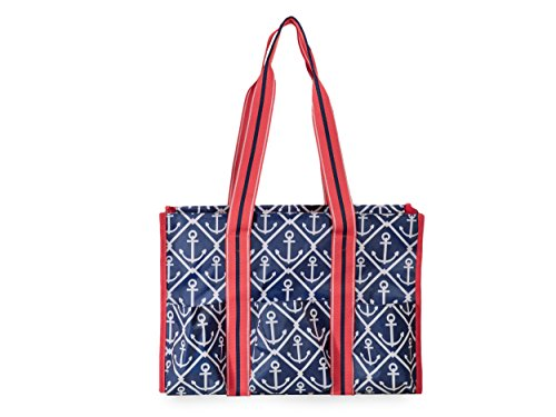 All For Color Classic Anchor Organize It Tote
