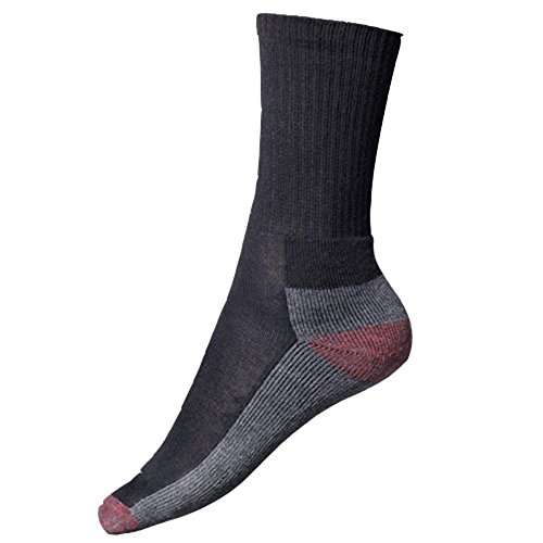 Dickies Gepolsterte Socken für Erwachsene, Herren, schützend, Arbeitsbekleidung, 5 Paar - Gepolsterte Arbeit Socken