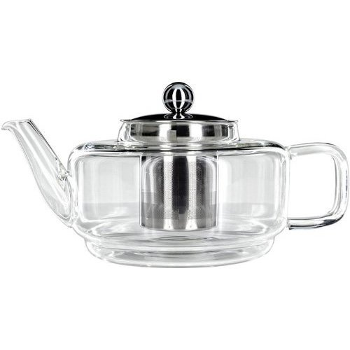 Judge Glass Teapot, Silver, 700 ml