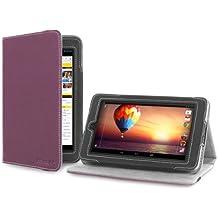 """Cover-Up - Custodia per HP Slate 7 (7"""") (Con Supporto) – Colore Viola"""