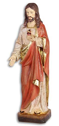 Figur Skulptur Kirche Herz Kunststein Antik-Stil 31cm ()