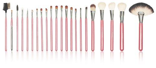 Shany Cosmetics NY Collection Pro Kit de brosse avec étui Coton Rouge 368,5 gram