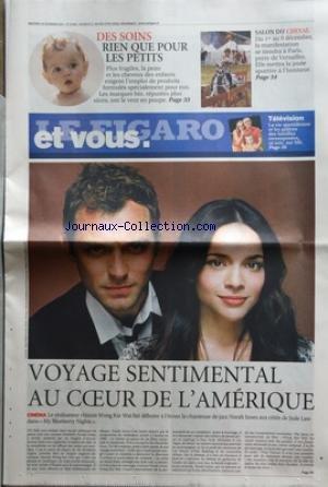 FIGARO ET VOUS (LE) [No 19696] du 28/11/2007 - VOY...