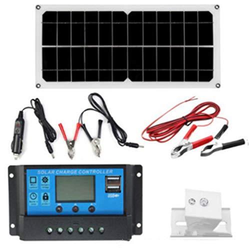 Huashao Conjunto de Paneles solares policristalinos de Alta eficiencia de 10 w, monitoreo de componentes fotovoltaicos, Panel Solar, Carga de teléfonos móviles, Nueva energía, Carga USB