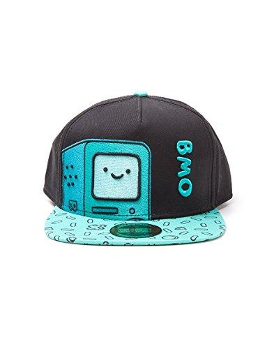 Adventure Time BMO Snapback-Cap Mehrfarbig, Mehrfarbig, Standard (Adventure Time Hüte)