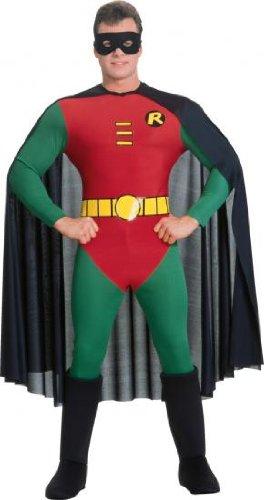 Batman The Dark Knight Rises - Robin-Kostüm - Herren/Erwachsene - Größe L (Batman Robin Kostüme)