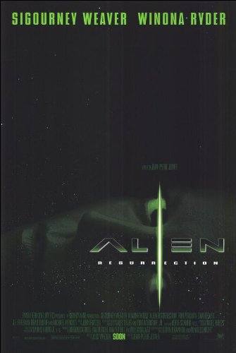 Alien Resurrection Movie Poster (Alien Resurrection Movie Poster)