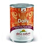 Almo Naturure - Alimentos Diarios para Gatos, 400 g, Grano Libre con Pato, Paquete de 24