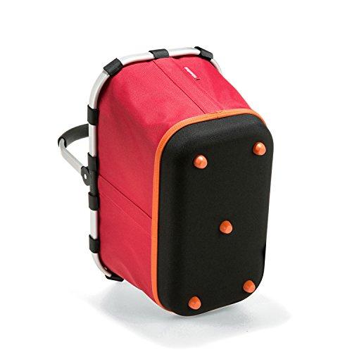 Reisenthel - Paniere, cesto per la spesa/da picnic con manici, colore e motivo a scelta, artist stripes (multicolore) - BL3058 Rosso