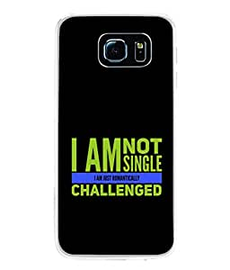 PrintVisa Designer Back Case Cover for Samsung Galaxy S6 Edge :: Samsung Galaxy S6 Edge G925 :: Samsung Galaxy S6 Edge G925I G9250 G925A G925F G925Fq G925K G925L G925S G925T (Love Lovely Attitude Men Man Manly)