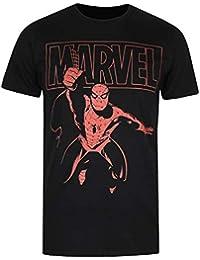 Marvel Spiderman Logo Swing T-Shirt Homme