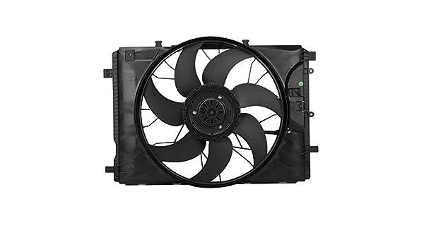 TOPAZ 2049061403 Ventilateur de refroidissement moteur 600 W 4 poils sans brosse /à charbon pour W176 W246