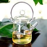 350ml Borosilicate Glass Teapot Heat Resistant For Blooming Tea