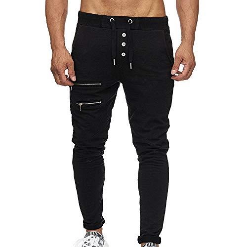 Elecenty Pantaloni uomo elegante Tuta da uomo Pantaloni da lavoro casual Jogging Harem Sportivi