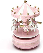 Carousel Music Box Girlfriend Birthday Gift Craft Jewelry Creative Cartoon Children's Toys Music