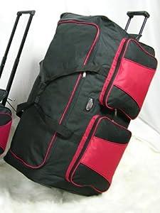 """Extra Large 34"""" Wheeled Holdall Jumbo suitcase"""