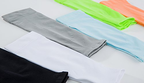 Adulto deportes mediano manga del brazo de compresión protección solar uv para baloncesto fútbol baseball ciclismo golf running fitness 3/4