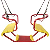 JTYX Silla Infantil de Columpio Juguetes para niños en Interiores y al Aire Libre adecuados para niños Mayores de 3 años