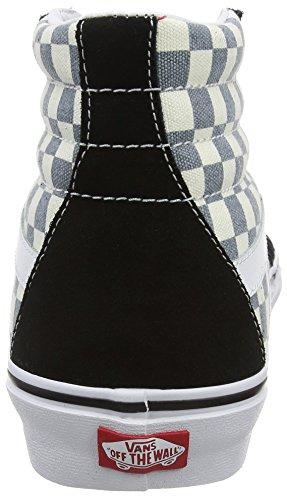 Vans Sk8-hi Reissue Unisex-Erwachsene Low-Top Mehrfarbig (checkerboard/black/citadel)