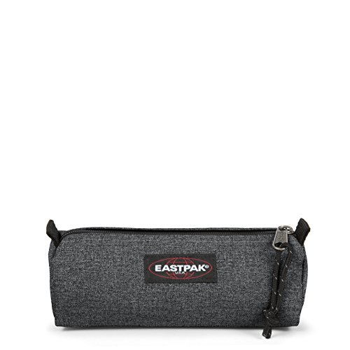 Eastpak Benchmark Single Federmäppchen, 21 cm, Schwarz (Black Denim) -