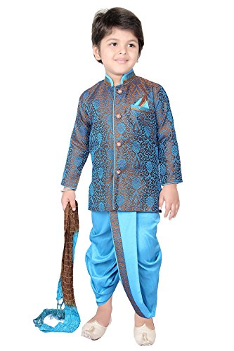 dhoti-combo-sherwani-suit-pyjama-wedding-indian-party-wear-boys-toddler-infant-ethnic-cowl-pant-trad