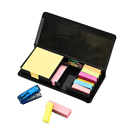 arpan-deluxe-sticky-memo-note-desk-organiser-box-set-with-index-bookmark-with-1-mini-staple-20pc-cli