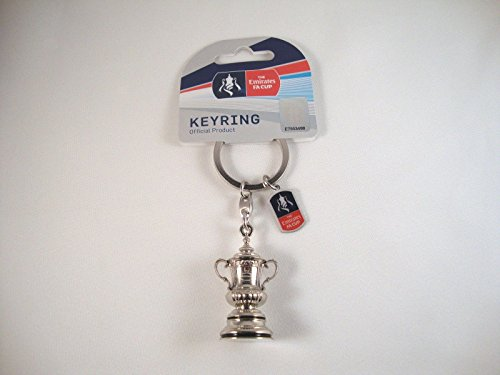 The FA Cup - Trophy replica keyring for sale  Delivered anywhere in UK