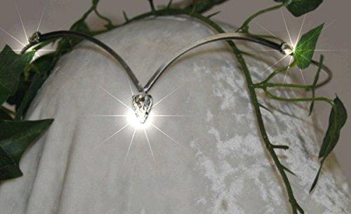 Preisvergleich Produktbild Dark Dreams Gothic Mittelalter Schmuck Diadem / Tiara Allegra, Farbe:kristall