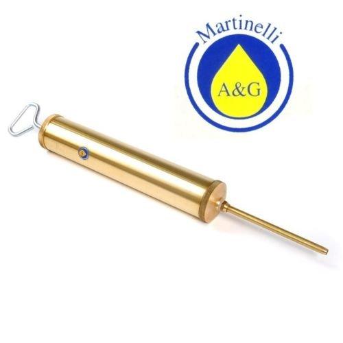 SIRINGA PER OLIO IN OTTONE Ø50X500 mm A&G MARTINELLI COD. 914 50X500