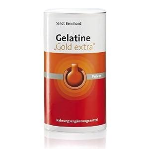 Sanct Bernhard Gelatine Gold Extra-, 1er Pack (1 x 525 g)