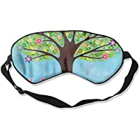 Eye Mask Eyeshade Watercolor Green Tree Sleeping Mask Blindfold Eyepatch Adjustable Head Strap preisvergleich bei billige-tabletten.eu