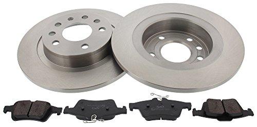 Preisvergleich Produktbild MAPCO 47705 Bremsensatz Bremsscheiben und Bremsbeläge Hinten