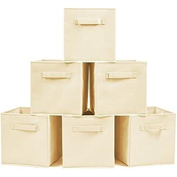 EZOWare Aufbewahrungsbox, 6er-Set Aufbewahrungskiste ohne