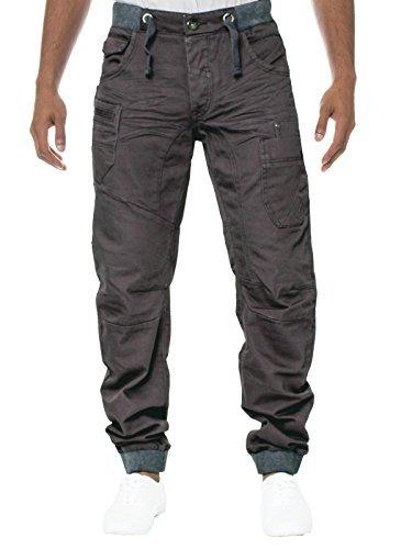 mens-designer-eto-jeans-cuffed-leg-jogger-denim-pants-bottoms-in-6-styles