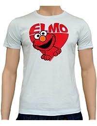 Elmo en logoshirt tee t-shirt heart