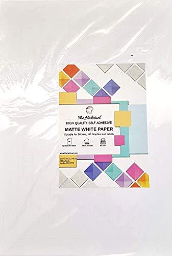 400 Etiketten 99.1mm x 139mm , 100 Blatt DIN A4 210mm x 297mm , geeignet für Inkjetdrucker , Laserdrucker und Kopierer. -