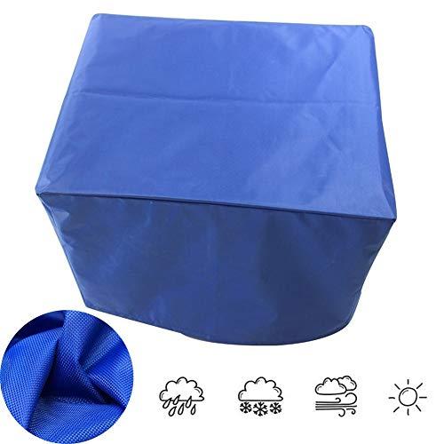 LITINGFC-Gartenmöbel Abdeckung Heavy Duty Oxford Cloth Patio-Tischdecken-Lager Im Freien Wasserdicht Atmungsaktiv UV-beständig, 30 Größen (Color : Blue, Size : 96x40x73cm)