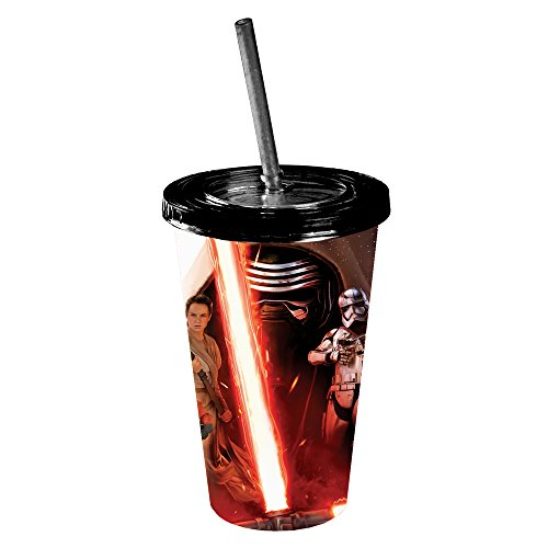 Silver Buffalo Star Wars Ep VII: The Force Awakens Characters Affiche Tumbler