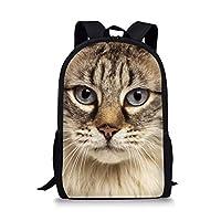 Cat School Bags Backpack Student Bookbag 3130C