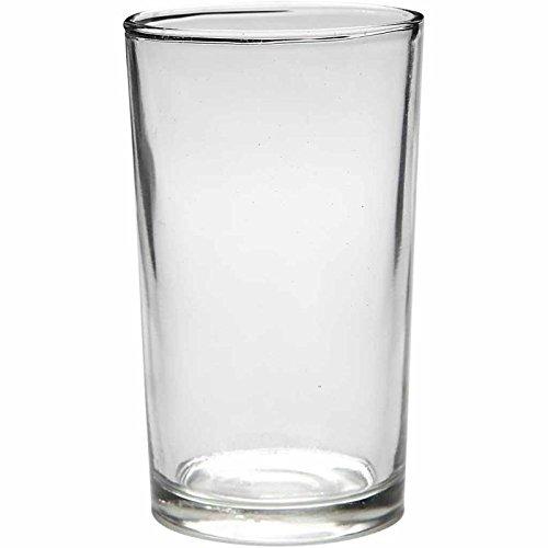Porta velas de cristal, dia: 6,1 cm, A. 10,2 cm, 12ud