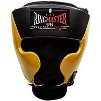 RingMasterUK Kids HeadGuard HeadGear Martial Arts Junior Boxing MMA Kickboxing