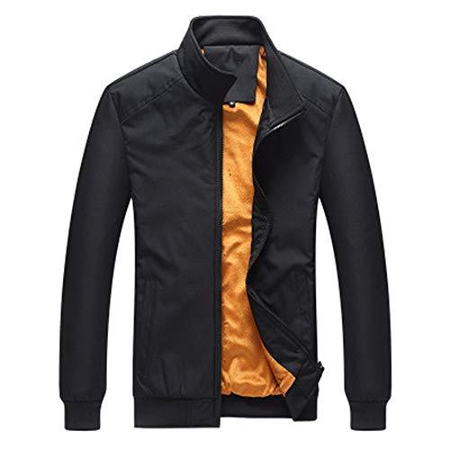 Yao Men's Outdoor Warm Coat Thick Casual Trendy Coat Plus Size Male Wild Jacket Trendy Winter Coats