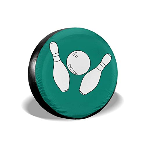 Tumskra Reserverad-Reifendeckel-Taschen Bowlingkugel-Reifendeckel Radendeckel Reifendeckel Zentral Für Reifendurchmesser 16 Zoll