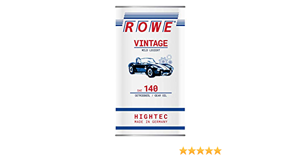 Rowe Hightec Vintage Sae 140 5 Liter Oldtimer Youngtimer Getriebeöl Made In Germany Auto